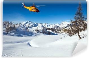 Vinylová Fototapeta Helicopter rescue
