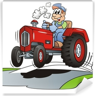 Fototapeta Traktor Coloring Sablona Pixers Zijeme Pro Zmenu