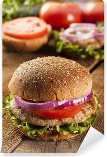 Fototapeta winylowa Homemade Burger Turcja na Bun