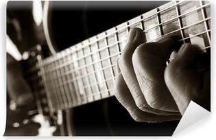 Vinylová Fototapeta Hrající jazzové kytary