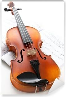 Vinylová Fototapeta Hudební nástroj: housle