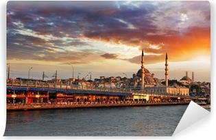 Vinylová Fototapeta Istanbul při západu slunce, Turecko