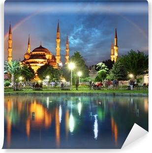 Vinylová Fototapeta Istanbul s duhou - Modrá mešita, Turecko