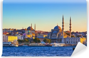 Vinylová Fototapeta Istanbul západ slunce