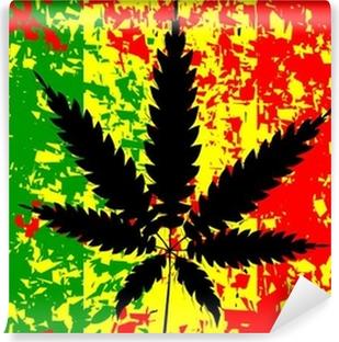 Vinylová Fototapeta Jamajský Rastafarian Flag