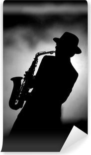 Vinylová Fototapeta Jazz sax