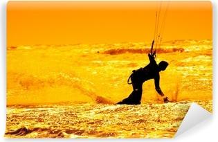 Fototapeta winylowa Kitesurfing