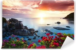 Vinylová fototapeta Klidné letovisko, krásné ráno sláva na Koh Samui,