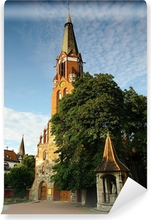 Fototapeta winylowa Kościół św Jerzego w Sopocie.