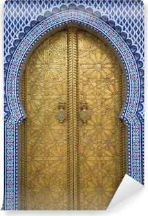 Vinylová Fototapeta Královský palác ve Fezu v Maroku