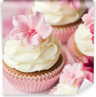 Vinylová Fototapeta Květina cupcakes