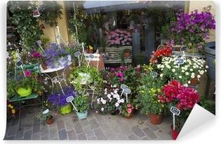 Vinylová Fototapeta Květinářství v ulici, Provence, Francie