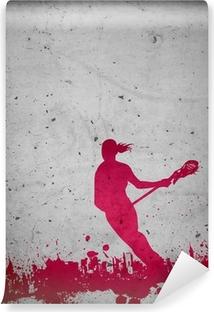Vinylová Fototapeta Lacrosse background