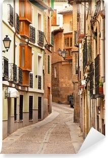Fototapeta winylowa Ładne domy w starym mieście miasta