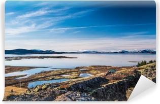 Vinylová Fototapeta Lake Thingvellir v národním parku Thingvellir na Islandu