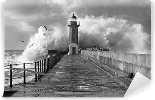 Vinylová Fototapeta Lighthouse, Foz do Douro, Portugalsko