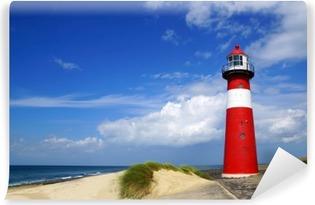Vinylová Fototapeta Lighthouse. Westkapelle, Nizozemsko