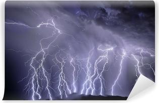 Vinylová Fototapeta Lightning nad Rincon hory