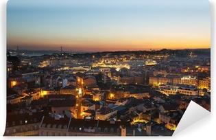 Vinylová Fototapeta Lisabon panoramatické