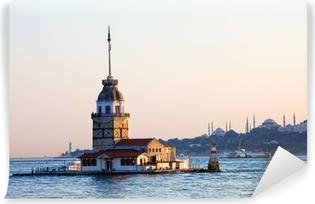 Vinylová Fototapeta Maiden Tower v Istanbulu