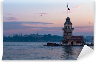 Vinylová Fototapeta Maiden věže v Istanbulu v Turecku