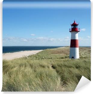 Vinylová Fototapeta Maják na ostrově Sylt