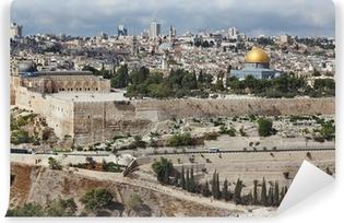 Vinylová Fototapeta Majestic panorama Jeruzaléma.