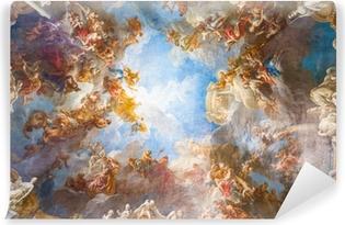 Fototapeta winylowa Malowanie sufitu Pałac wersalski koło Paryża, Francja