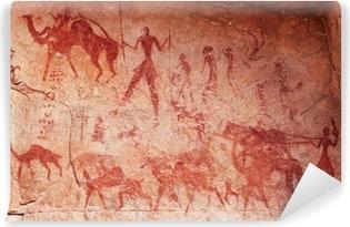 Fototapeta winylowa Malowidła skalne Tassili n'Ajjer, Algierii