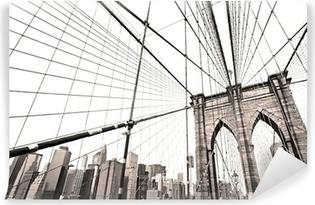 Vinylová Fototapeta Manhattan Bridge, New York City. USA.