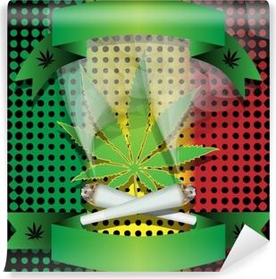 Vinylová Fototapeta Marihuana-Cannabis-Joint