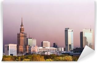 Vinylová Fototapeta Město Varšava
