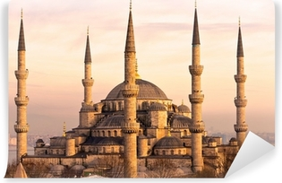 Vinylová Fototapeta Modrá mešita, Istanbul, Turecko.
