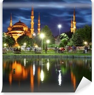 Vinylová Fototapeta Modrá mešita s odrazem - Istanbul