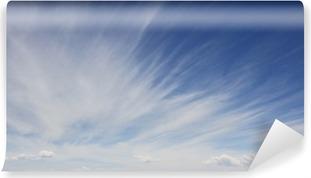 Vinylová Fototapeta Modré nebe s oblak na pozadí
