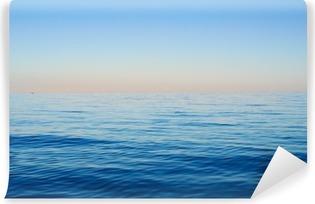 Vinylová Fototapeta Mořské vlny na pozadí modré oblohy