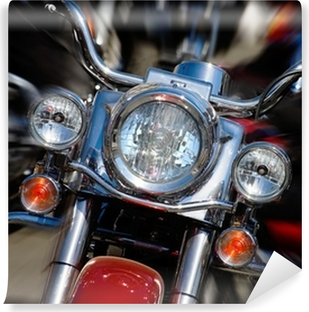 Vinylová Fototapeta Motocykl