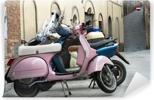 Vinylová Fototapeta Motocykly ve starém městě