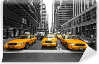 Vinylová Fototapeta NEW YORK CITY-březen 25: Times Square, vystupoval s Broadway Čt