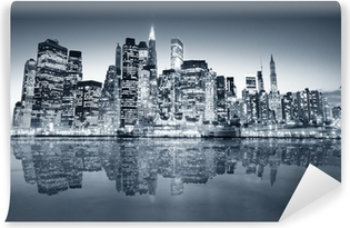 Vinylová Fototapeta New york manhattan