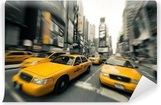 Vinylová Fototapeta New York taxi