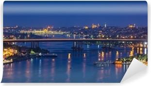 Vinylová Fototapeta Notte ad Istanbul