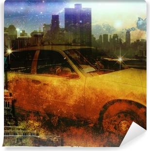 Vinylová Fototapeta NYC Složení