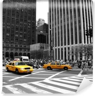 Vinylová Fototapeta NYC Taxi