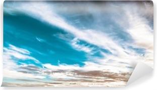 Vinylová Fototapeta Oblohu a mraky krásné letní