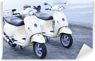 Vinylová Fototapeta Old fashion Motocykly