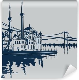 Vinylová Fototapeta Ortaköy Camii (ISTANBUL)