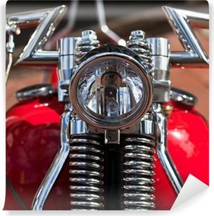 Vinylová Fototapeta Osvětlení starý Harley Davidson