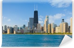 Vinylová Fototapeta Panoráma města Chicago