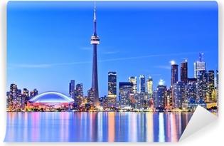 Vinylová Fototapeta Panorama Toronto panorama v Ontariu, Kanada.